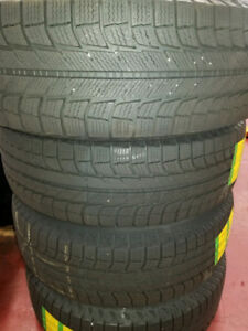 SET OF 4 MICHELIN LATITUDE X-ICE 2 WITH RIMS FOR SALE