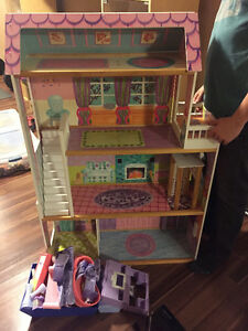 Doll House and Furniture