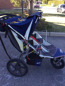 BOB Revolution Duallie Stroller with Infant Car Seat Adapter