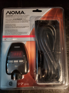 Noma outdoor programmable Extension cord/Block heater cord
