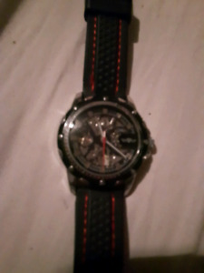 Man's super awesome watch