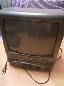 Citizen tv/vcr combo