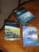PLANET EARTH & THE PLUE PLANET COMPLEATE 10 DVD SET