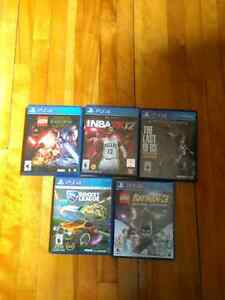 Ps4 games!