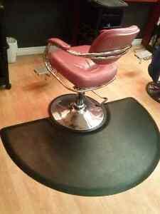 Salon chair & Matt  $300