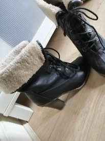 Armani Exchange boots