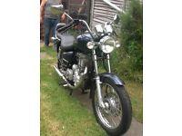Motorbike Royal enfield thunderbird