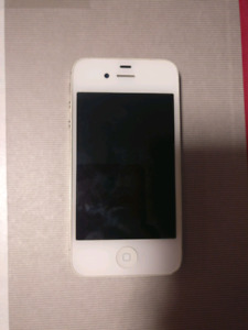 AVAILABLE. 16GB white iPhone 4S unlocked with charging cable
