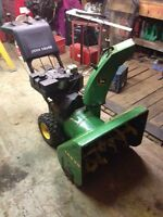 TRS 26 John Deere Snowblower