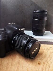 Great condition Canon EOS 600D pack