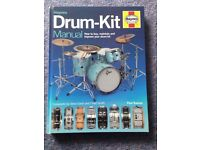 Haynes Drum Kit Hardback 200 Page Colour Book - Perfect Condition