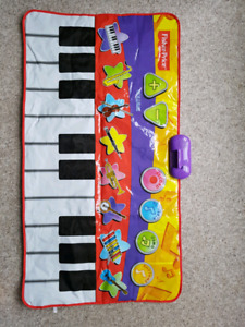 Fisher- Price electronic musical piano mat