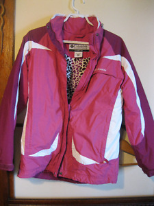 like new ladies winter columbia coat size extra small