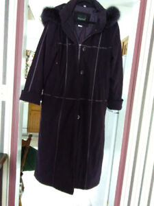 Coat - Ladies Long warm winter coat