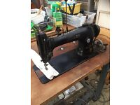 Heavy duty commercial Singer sewing machine