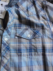 Levi's Short Sleeve Barstow Western Slim Fit Shirt (S)