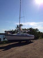 1990 MacGregor 26M Sailboat
