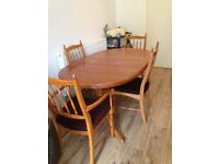 £40 Solid Wood n Chairs