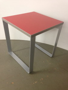 sleigh base occasional table