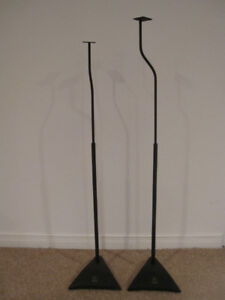 Metal Speaker stands – Great Quality and in Good Condition