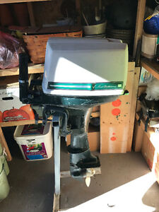 9.9 HP Outboard Motor