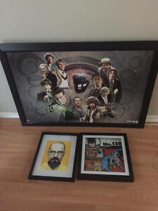 Doctor who, breaking bad and Batman