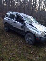 Chevy tracker for parts