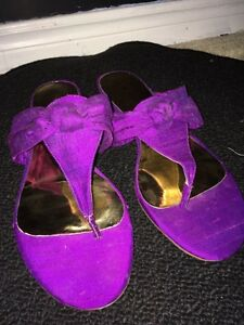 Magenta Purple Nine West Sandals Peterborough Peterborough Area image 2
