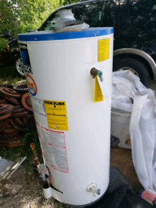 Gas Water Heater 40 Gallons $20