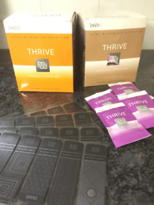Le-Vel THRIVE lifestyle shakes and DFT patches