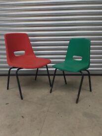 Job lot Children's stacking chairs
