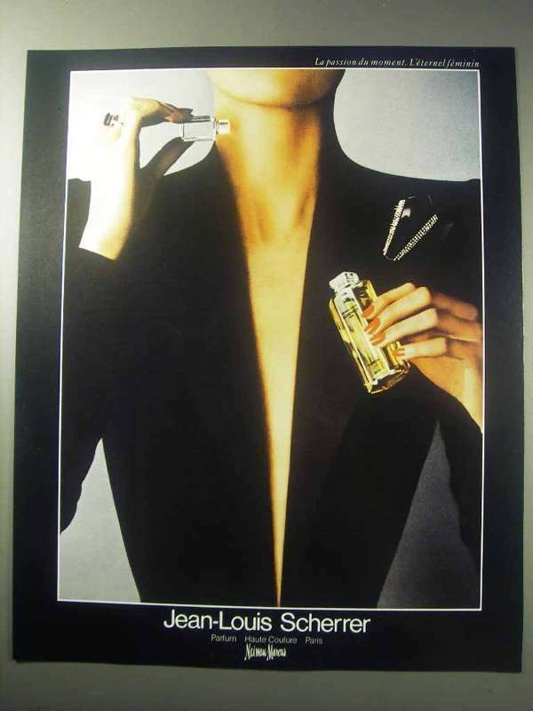 1985 Jean-Louis Scherrer Perfume Ad
