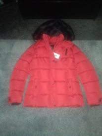 Ladies coat size 12 - New/matalan