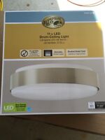 LED Drum Ceiling Light