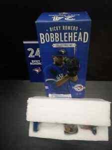 Ricky Romero 24, Bobblehead, # 3 Collectible 2012. New , in box.