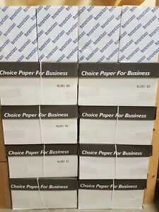 Copy Paper 8.5 x 11 - 96 brightness 5000 Sheets - KW best prices