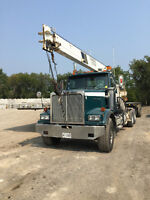 WESTERN STAR 4964 TRACTOR WITH CRANE