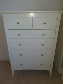 Drawer unit white