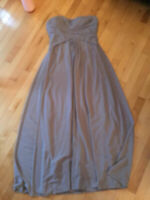 Bridesmaid Dress-Grey