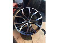 "VW Vw Santiago gti Gtd performance alloy wheels 18"" brand new alloys gti Gtd 5112 vag Audi"