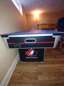 Air Hockey/Table Tennis Table Hockey Night in Canada at Home!