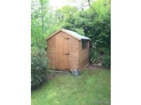 8ft x 6ft apex shed