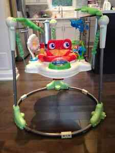 Rainforest Jumperoo - Good used condition Oakville / Halton Region Toronto (GTA) image 1