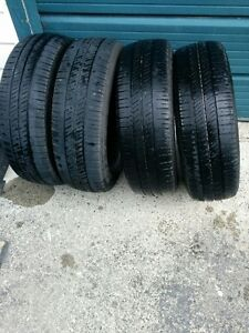 a vendre 4 pneus été goodyear grandeur 185-65-R15