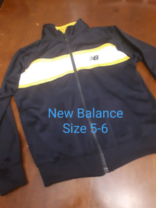 Size 5 boys hoodies and jackets shirts