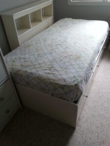 2-Drawer Storage Bed for Double Mattress