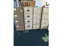 Massive office clearance filling cabinets