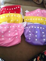 One size pocket cloth diapers