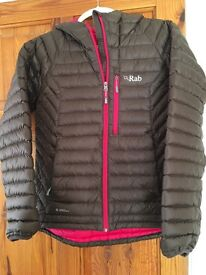 Rab Microlight alpine jacket size 12