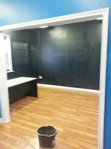 Double Office Space - with Lockable Closets